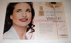 2000 L'Oreal Visible Lift Makeup Ad - Andie MacDowell