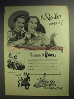 1951 Ipana Toothpaste Ad - How Sparkling Can You Be?