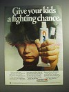 1978 Crest Toothpaste Ad - Give Kids a Fighting Chance