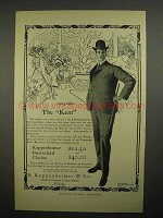 1902 B. Kuppenheimer & Co. Clothing Ad - The Kent Suit