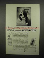 1929 Fromm Pedigreed Silver Fox Scarf Ad - 7665 Women