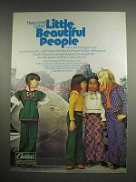 1974 Carter's Little Beautiful People Fashions Ad