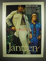 1975 Jantzen Clothes Ad - Make This Your Day