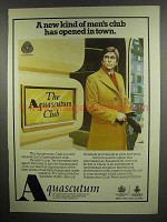 1978 Aquascutum Clothes Ad - A New Kind of Men's Club