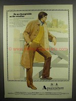 1978 Aquascutum Reversible Coat Ad - Be Changeable