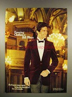 1980 Bill Blass Evening Clothes Ad - Your Next Tuxedo