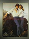 1982 Jordache Superwash Jeans Ad