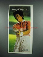 1988 Izod Club, Lacoste Club Clothes Ad - Nancy Lopez