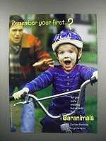 1998 Garanimals Fashion Ad - Remember Your First?