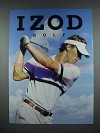2004 Izod Golf Fashion Ad
