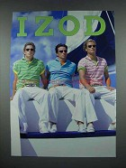 2004 Izod Fashion Ad