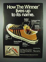 1972 Sears Converse The Winner Shoes Ad - It's Name