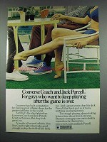 1973 Converse Coach, Jack Purcell Shoe Ad!