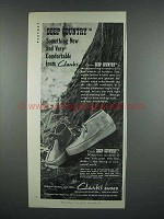 1973 Clarks Deep Country Shoes Ad - New and Comfortable