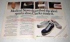 1978 Clarks Sports Shoe Ad - Medical News Described