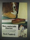1979 Hush Puppies Shoes Ad - More Comfortable than Feet