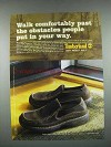 2003 Timberland Shoes Ad - Walk Comfortably Past