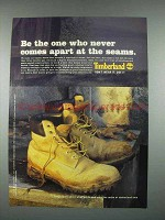 2003 Timberland Boots Ad - Never Comes Apart