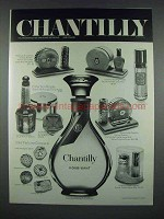 1971 Houbigant Chantilly Perfume Advertisement