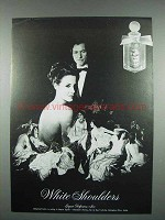 1973 Evyan White Shoulders Perfume Ad