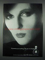 1977 Lanvin Arpege Perfume Ad - I'll Promise Anything