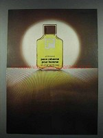 1977 Paco Rabanne Pour Homme After Shave Ad