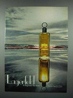 1979 Lagerfeld Cologne Ad - a Fragrance for Men