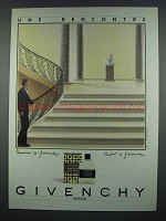 1984 Givenchy Cologne Ad