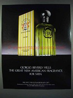 1986 Giorgio Beverly Hills for Men Cologne Ad