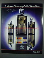 1986 Caron The Third Man Cologne Ad
