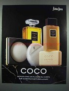 1987 Chanel Coco Perfume Soap Ad, Les Plaisirs du Corps