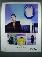 1988 Gucci No 3 Perfume Ad - The New Classic