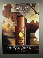 1992 Yves Saint Laurent Opium Secret de Parfum Ad