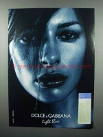 2004 Dolce & Gabbana Light Blue Perfume Ad