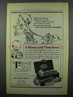 1914 Gem Damaskeene Razor Ad - Little Jack Horner