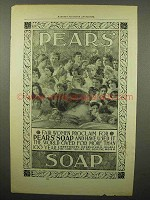1897 Pears' Soap Ad - Fair Women Proclaim For