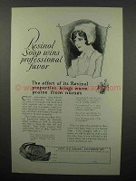 1927 Resinol Soap Ad - Wins Professional Favor