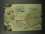 1939 Lux Detergent Ad - Your Hands Look As Lovely