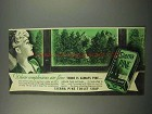 1945 Sierra Pine Soap Ad - Complexions