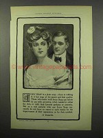 1902 Ivory Soap Ad - Is a Plain Soap