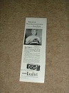 1950 Stereo Realist Camera Ad w/ Ann Sothern NICE!!