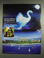 1983 Hyatt Regency Maui Hotel Ad - Incredible as Island