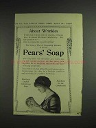 1914 Pears' Soap Ad - About Wrinkles
