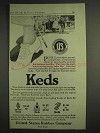 1917 Keds Shoes Ad - People Everywhere Are Welcoming