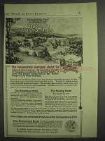 1917 Virginia Hot Springs Ad - Homestead Hotel