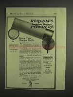 1917 Hercules Smokeless Shotgun Shells Powders Ad