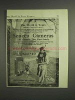 1917 Seneca 2C Folding Scout Camera Ad