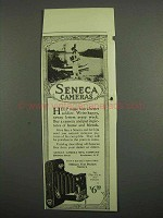 1918 Seneca Military Vest Pocket Camera Ad