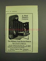 1918 Seneca Military Vest Pocket Camera Ad - Nurse's