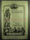 1918 Victor Records Ad - Greatest Artists, Caruso +